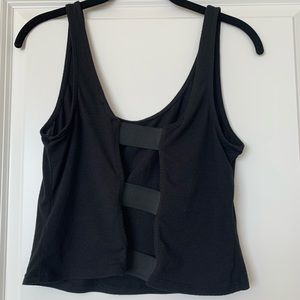 Material Girl Crop Top size L